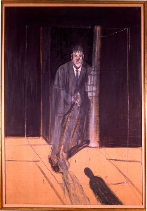 <i>Portrait of Lucian Freud</i>, 1951. Oil on canvas, 198 x 137 cm. The 