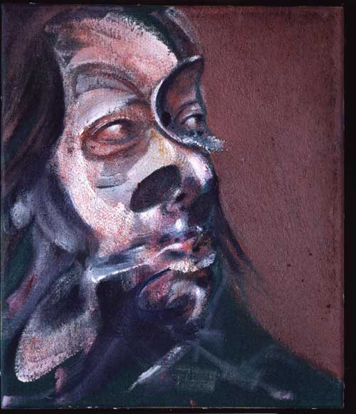 <i>Study of Isabel Rawsthorne</i>, 1966. Oil on canvas 35.5 x 30.5 cm. 