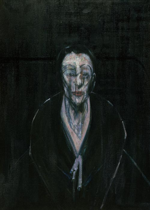 Francis Bacon.<em> Portrait of Lisa</em>, 1956. Oil on canvas 100.6 x 72.7cm. Robert and Lisa Sainsbury Collection.
