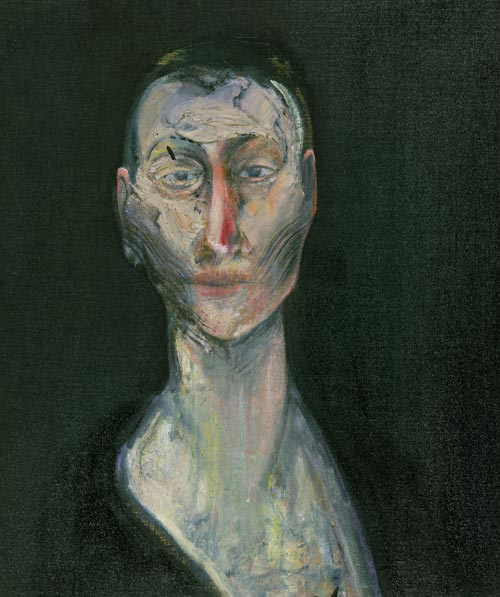 Francis Bacon.<em> Portrait of Lisa</em>, 1957. Oil on canvas 59.7 x 49.5cm. Robert and Lisa Sainsbury Collection.