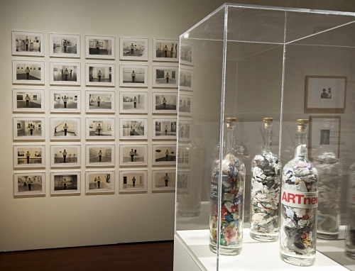 Vagrich Bakhchanyan: Accidental Absurdity. Installation view (1), Zimmerli Art Museum at Rutgers, 17 October 2015 - 6 March 2016. Photograph: Peter Jacobs.