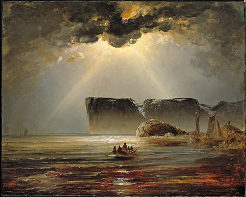 Peder Balke. North Cape, 1840s. Oil on cardboard, 67.5 × 84 cm. The National Museum of Art, Architecture and Design, Oslo. © The National Museum of Art, Architecture and Design, Oslo. Photograph: Jacques Lathion.