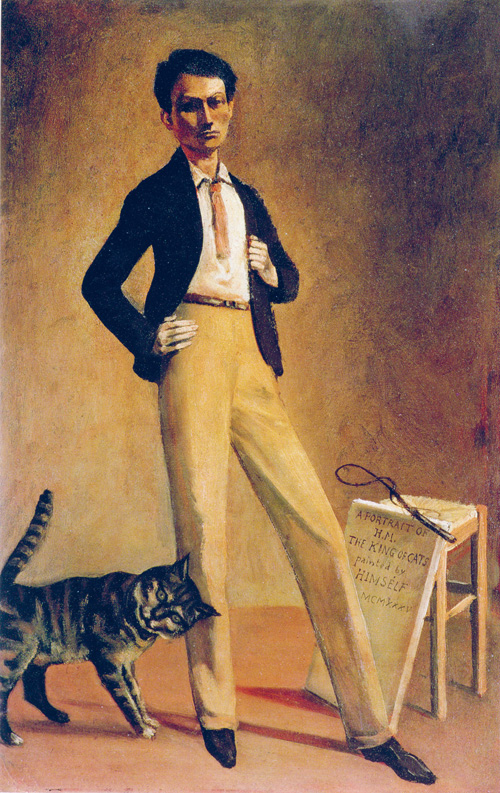 Balthus. Le roi des chats, 1935. Oil on canvas, 71 x 48 cm. Private collection © Balthus © MONDADORI PORTFOLIO/Bridgeman Images.
