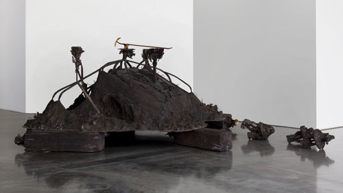 Matthew Barney. Canopic Chest, 2011. Cast bronze. Laurenz-Stiftung, Basel. © Matthew Barney. Courtesy Gladstone Gallery, New York and Brussels.