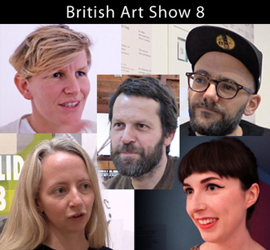 British Art Show 8, Leeds Art Gallery. Laure Provost, Martino Gamper, Ciara Phillips, Rachel Maclean, Ryan Gander talk to Ann McNay about their work.