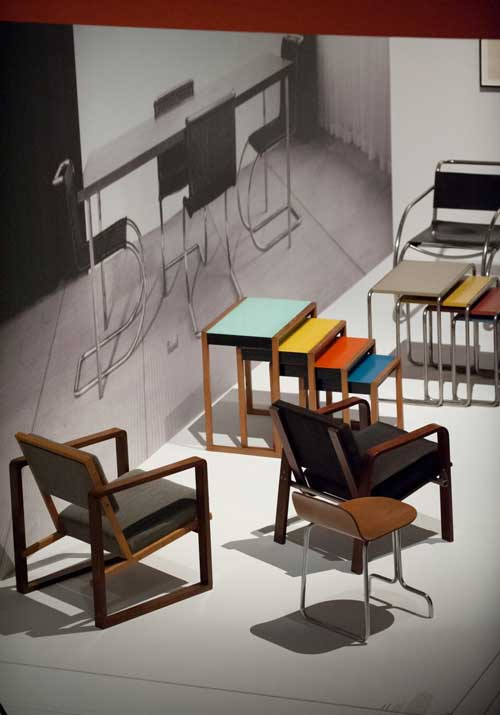 Bauhaus: Art as Life, Barbican Art Gallery, London. Installation view (1). Photograph: Jane Hobson 2012. Courtesy of Barbican Art Gallery.