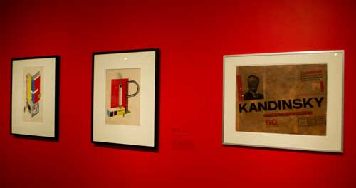 Bauhaus: Art as Life, Barbican Art Gallery, London. Installation view (2). Photograph: Jane Hobson 2012. Courtesy of Barbican Art Gallery.