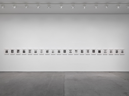 Christian Marclay. Sound Holes, 2007. Suite of 21 photogravures in clam shell box. Courtesy White Cube. Photograph: ©Todd-White Art Photography.
