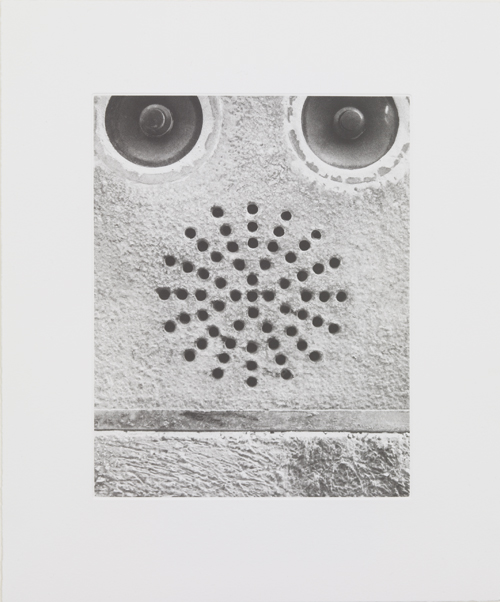 Christian Marclay. Sound Holes, 2007 (detail). Suite of 21 photogravures in clam shell box. Courtesy White Cube.