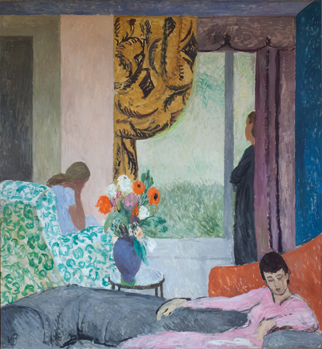 Vanessa Bell. The Other Room, late 1930s. 161 x 174 cm. Private Collection. © The Estate of Vanessa Bell, courtesy of Henrietta Garnett.