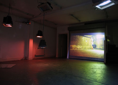<p>Toby Ross-Southall.<em> Being Silent Isn't Strong </em>and<em> Self-Effacement II (Bonny Street) (Installation View) </em>2010. © the artist.