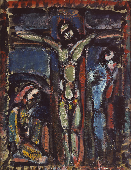 Georges Rouault. <em>Crucifixion</em>, 1937. Courtesy of the Fondation Georges Rouault, Paris, France