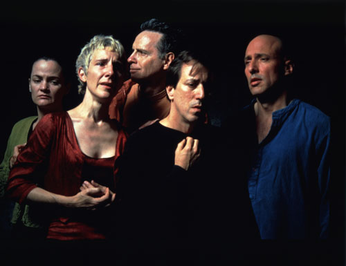 Bill Viola. <em>The Quintet of the Unseen</em>, 2000 (production still). 