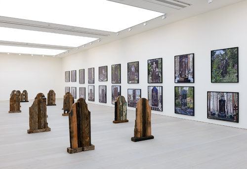 Marianne Vitale & Denis Tarasov. Installation view. © Sam Drake, 2013. Image courtesy of the Saatchi Gallery, London.