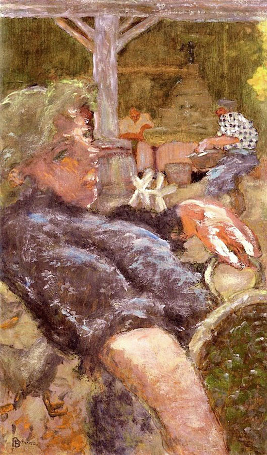Pierre Bonnard. Le Pressoir au Grand-Lemps (The wine press), 1893. Oil on canvas. Long term loan from a private collection. © Adagp, Paris 2016.
