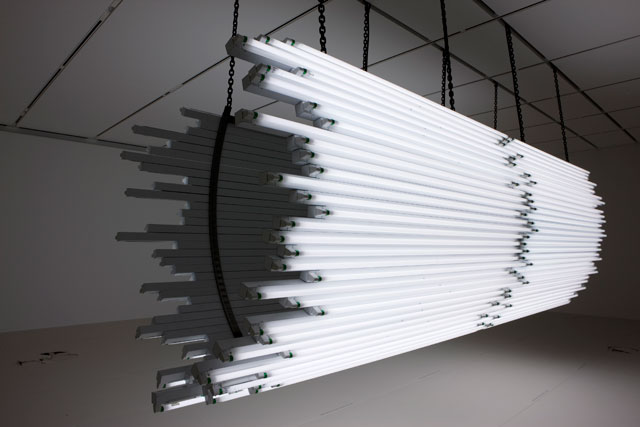 Monica Bonvicini. Light Me Black, 2009. © VG Bild-Kunst. Photograph: The Art Institute of Chicago.