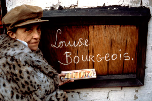 Louise Bourgeois in 1980. Photograph: Mark Setteducati, © The Easton Foundation/Licensed by DACS.