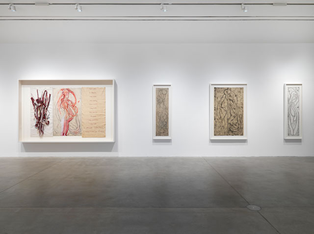 Installation view, Louise Bourgeois.Turning Inwards, Hauser & Wirth Somerset, 2016. Louise Bourgeois © The Easton Foundation/VAGA, New York/DACS, London 2016.