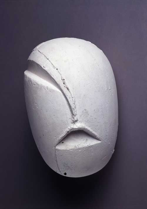 Head of a Child (head from the first step), 1917. Plaster, 16.9 x 26 x 19 cm. Musée National d'Art Moderne, Paris © ADAGP, Paris and DACS London 2004