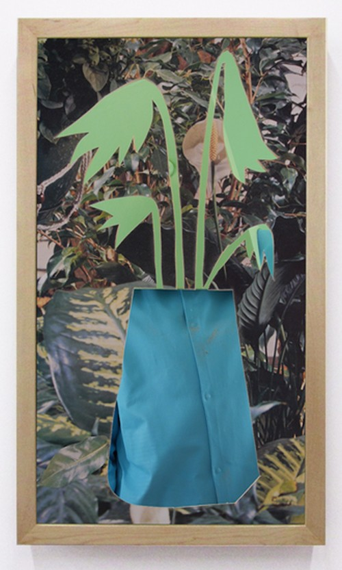 Brian Bress. Blue Flower, 2014. High definition single-channel video (colour), high definition monitor and player, wall mount, framed, 37.75 x 22.5 x 4 in (95.89 x 57.15 x 10.16 cm), 21 min 11 sec loop. Courtesy Cherry and Martin, Los Angeles, CA.