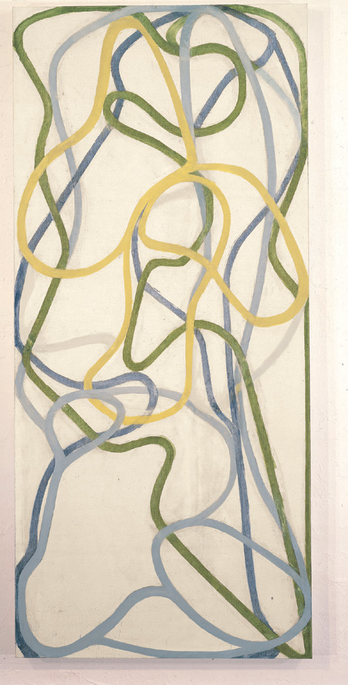 Brice Marden. <em>China Painting</em>, 1995-96; Private Collection; &copy; 2006 Brice Marden/Artists Rights Society (ARS), New York.