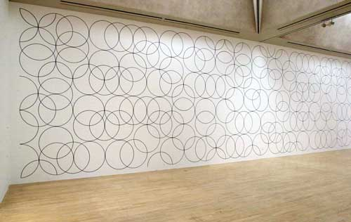 Installation at Tate Britain - Room 1, <i>L-R: Composition with Circles 