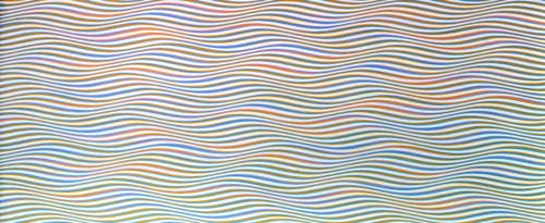 <i>To a Summer's Day</i>, 1980. Acrylic on canvas, 115.5 x 281 cm. Tate. 