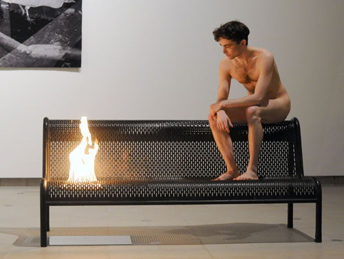 Roger Hiorns. <em>Untitled (2005-10)</em>. Photo: Kieron McCarron.