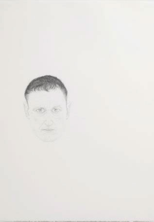 Michael Landy. Landy Family. Michael, Self Portrait, 2007. Pencil on paper, 70 x 50 cm. Collection of the artist.
