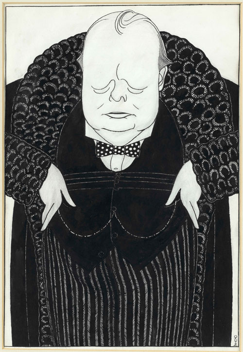 Powys Arthur Evans (aka ŒQuiz1). Churchill