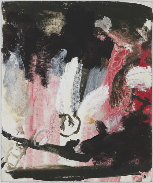 Cecily Brown. Untitled, 2009. Oil on linen, 15 x 12.5 in.