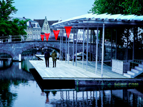 Atelier Bow-Wow. Canal Swimmer's Club. © Peter De Bruyne.