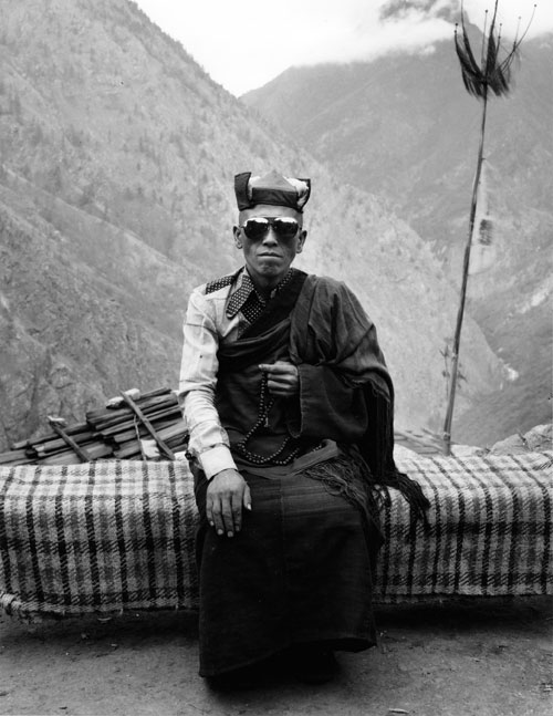Kevin Bubriski<em>. Kancha Lama, Ngyak Village, Gorkha</em>, 1984. Gelatin silver print, 22 x 18 in. &copy;&nbsp;Collection of Kevin Bubriski