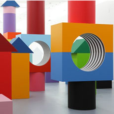 Daniel Buren: Comme Un Jeu d'Enfant / Like Child's Play, Work In Situ