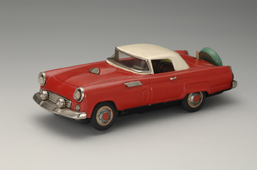 Ford Thunderbird Two-Door Coupe, 1956. 11 x 4 1/4 x 3 1/8 in. (28 x 11 x 8 cm). Nomura Toys. Yoku Tanaka Collection. Photo: Tadaaki Nakagawa.
