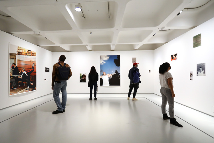 Wolfgang Tillmans room, installation view, Michael Clark: Cosmic Dancer, Barbican Art Gallery, 7 October 2020 – 3 January 2021. © Tim Whitby/Getty Images.