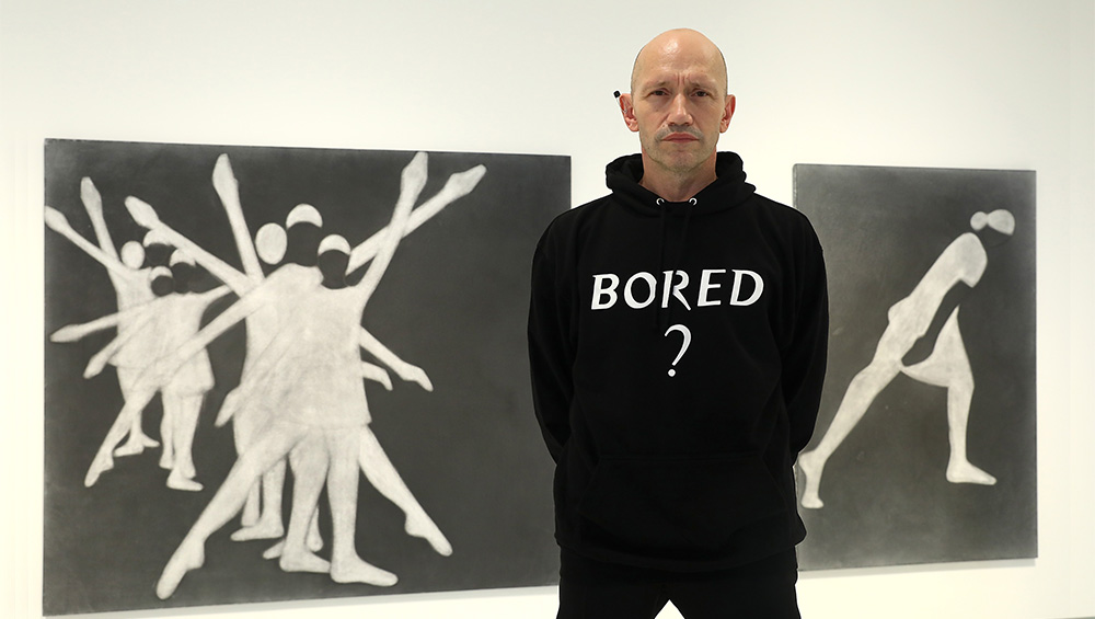 Michael Clark: Cosmic Dancer. Michael Clark with works by Silke Otto-Knapp Barbican Art Gallery, 7 October 2020 – 3 January 2021. © Tim Whitby/Getty Images.
