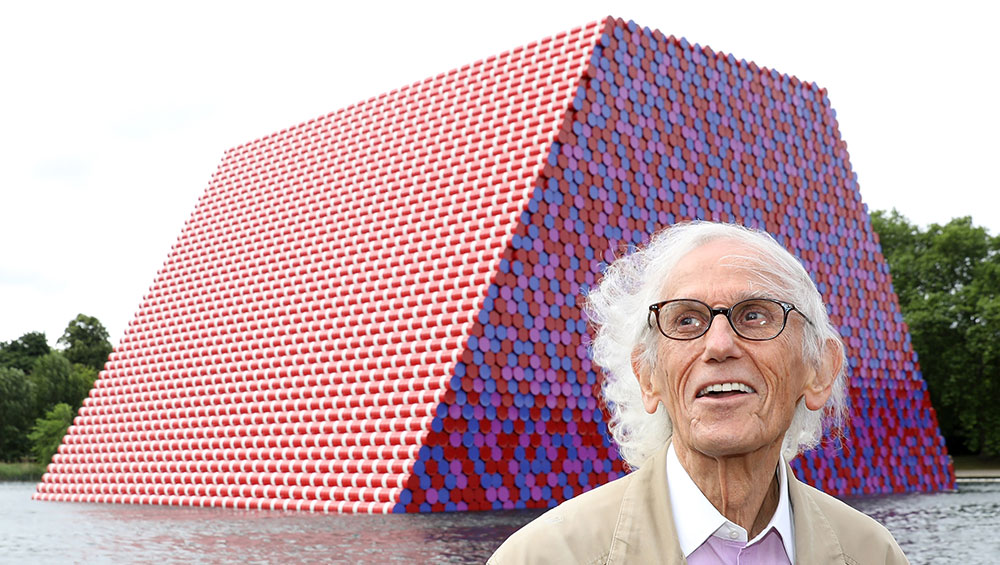 A clever smartphone app has turned Christo & Jeanne-Claude's London Mastaba into a trick of augmented reality that you can carry around in your pocket, allowing you to site it anywhere you chose