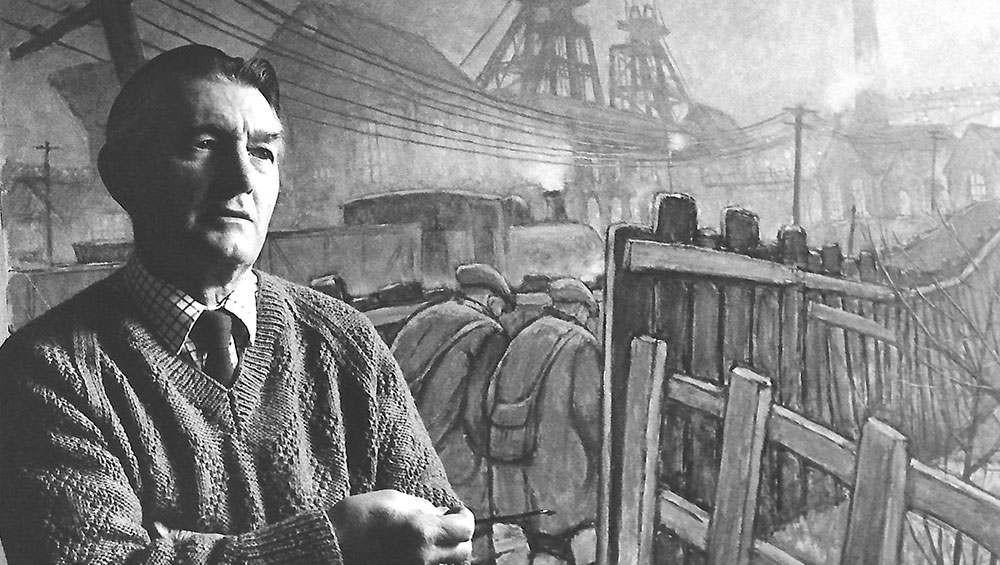 The son of the artist Norman Cornish, whose work is synonymous with mining life in the County Durham town of Spennymoor, looks back at his father's life and artistic legacy