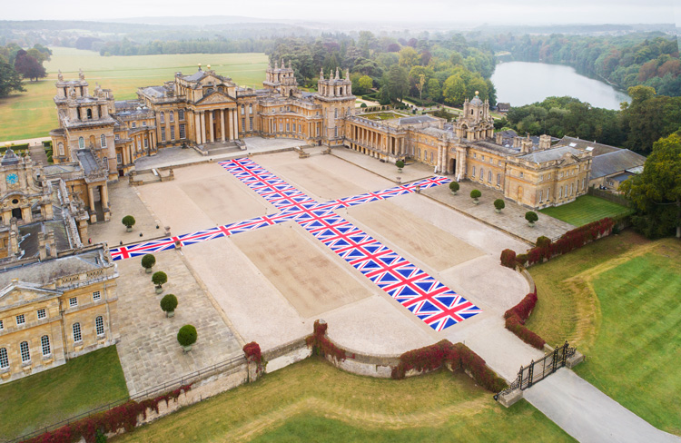 Installation view, Victory is Not an Option, 2019, Maurizio Cattelan at Blenheim Palace, 2019. Photo: Tom Lindboe, courtesy of Blenheim Art Foundation.