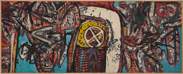 Alan Davie, Goddess of the Wheel, 1960. Photo: Prudence Cuming Associates, The Estate of Alan Davie. All rights reserved. DACS 2019.
