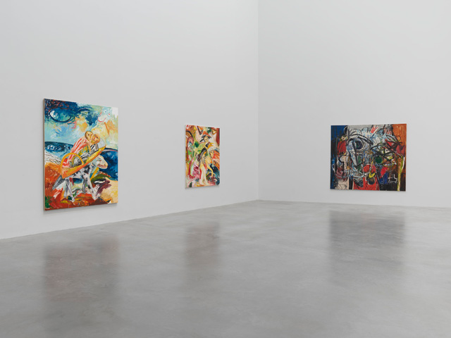 John Bellany and Alan Davie: Cradle of Magic, installation view, Newport Street Gallery, London, 2019. Photo courtesy Newport Street Gallery.
