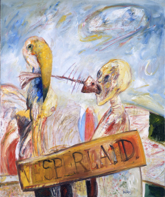 John Bellany, Vesperland, 1981. Photo: Prudence Cuming Associates, The Estate of John Bellany. All rights reserved. Bridgeman Images, 2019.