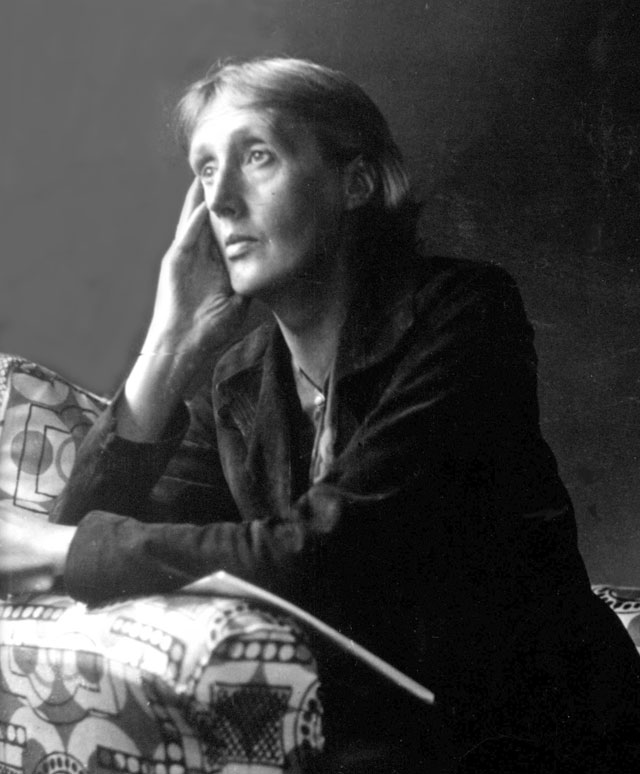 Artist unknown. Virginia Woolf, c1934. Photograph. Courtesy The Charleston Trust.