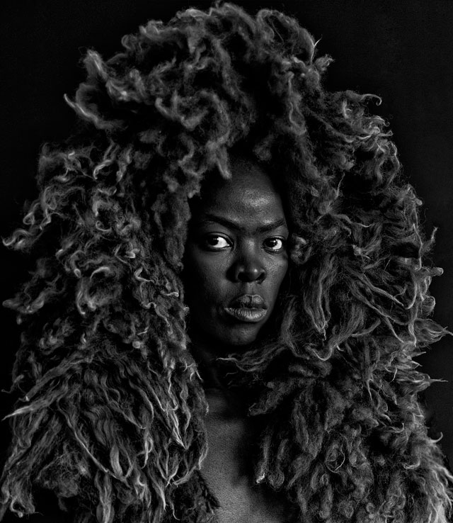 Zanele Muholi. Somnyama Ngonyama II, Oslo, 2015. Photograph. © Zanele Muholi. Courtesy of Stevenson, Cape Town/Johannesburg and Yancey Richardson, New York.