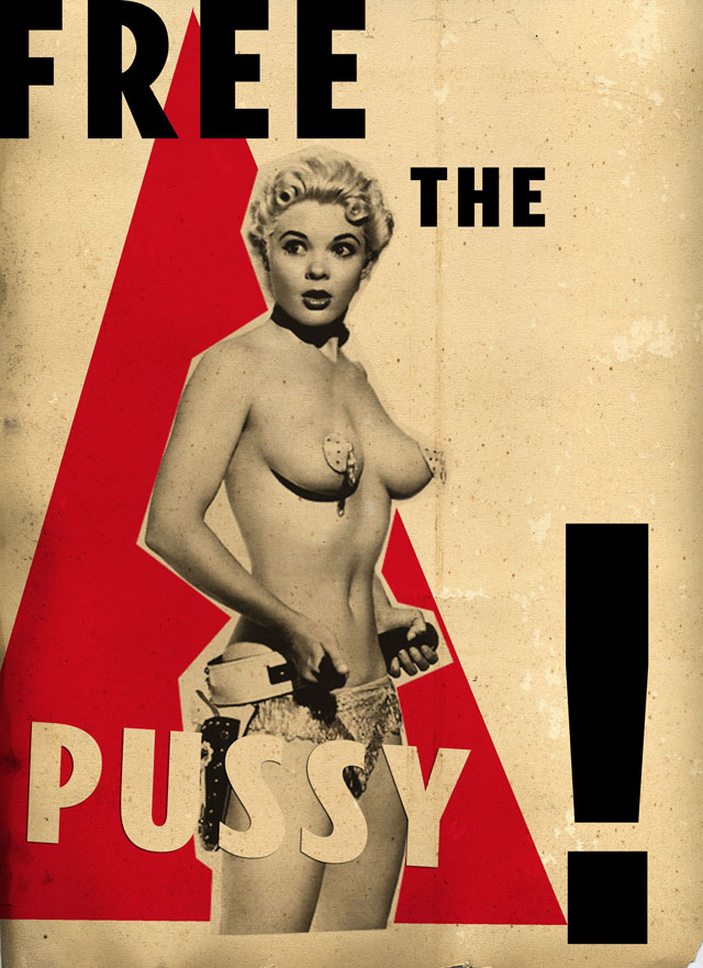 Billy Chyldish. Free The Pussy, 2012.