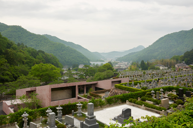 Inagawa Cemetery chapel and visitor centre, Japan, 2013-2017. Image courtesy David Chipperfield Architects London.