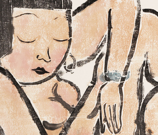 A microcosm of Chinese art and social change at Ipswich Art Gallery – this group show of works on paper by contemporary artists from China draws on, plays with and subverts the canons of art history from both the east and the west