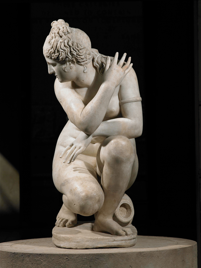 Roman. Aphrodite (The Crouching Venus), second century. Marble, 119 cm. Royal Collection Trust / © Her Majesty Queen Elizabeth II 2017.