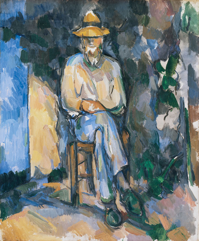 Paul Cézanne. The Gardener Vallier, 1905-06. Tate, London, bequeathed by C Frank Stoop 1933 © Tate, London 2017.